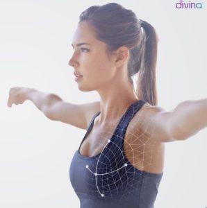 simulation 3D avant l'augmentation mammaire